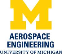 Aerospace Engineering at the University of Michigan Logo